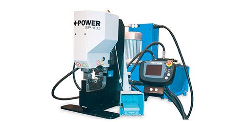 Finn-Power SP100, SP100S & SP100Z - Powerco Crimping Australasia