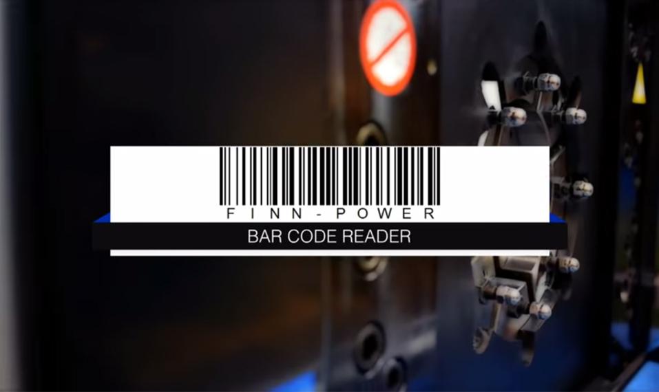 Finn-Power Barcode Reader