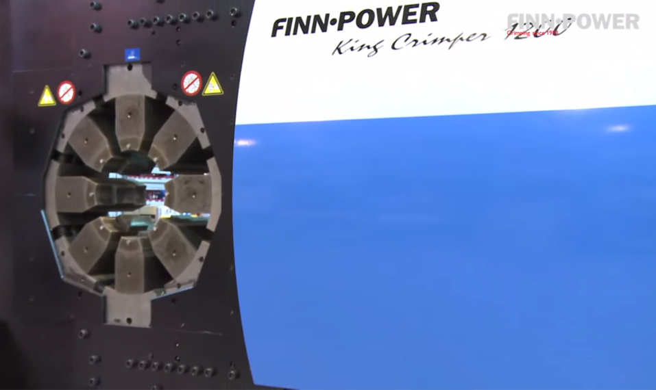 Finn-Power King Crimper