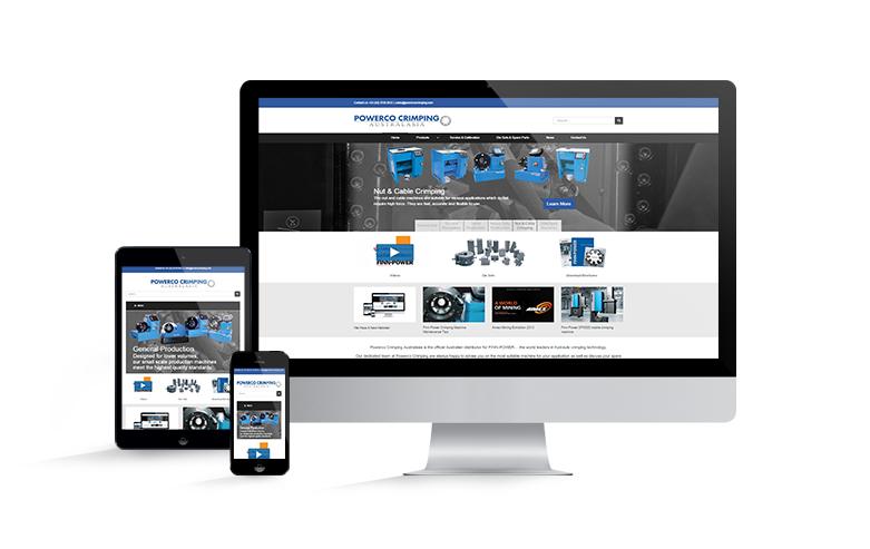 Powerco crimping Australasia website